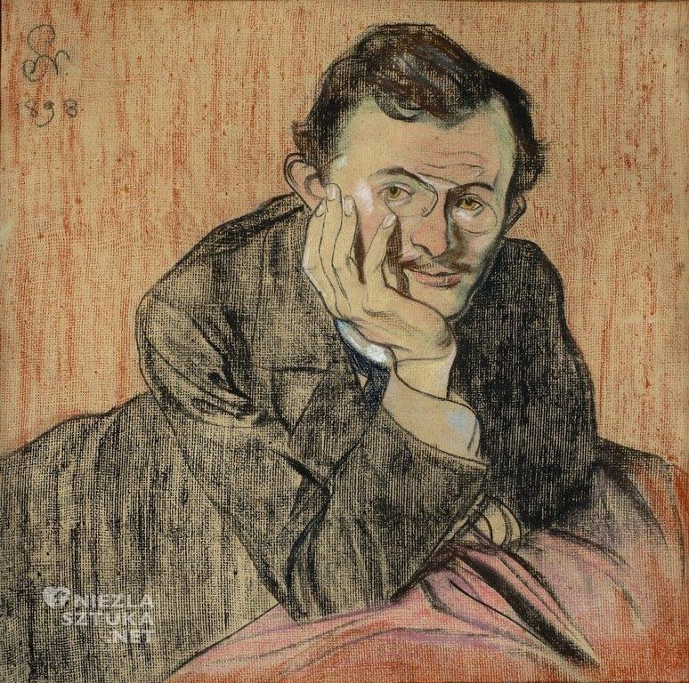 Stanisław Wyspiański Portret Lucjana Rydla