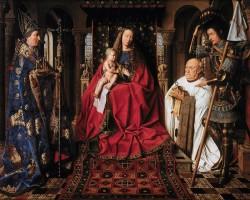 Jan van Eyck Madonna kanonika van der Paele