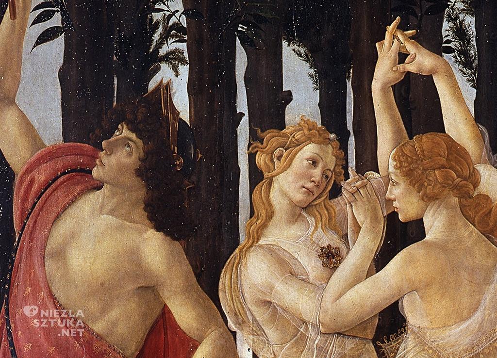 Sandro Botticelli, Wiosna (detal) |ok. 1470–1482, Galeria Uffizi, Florencja