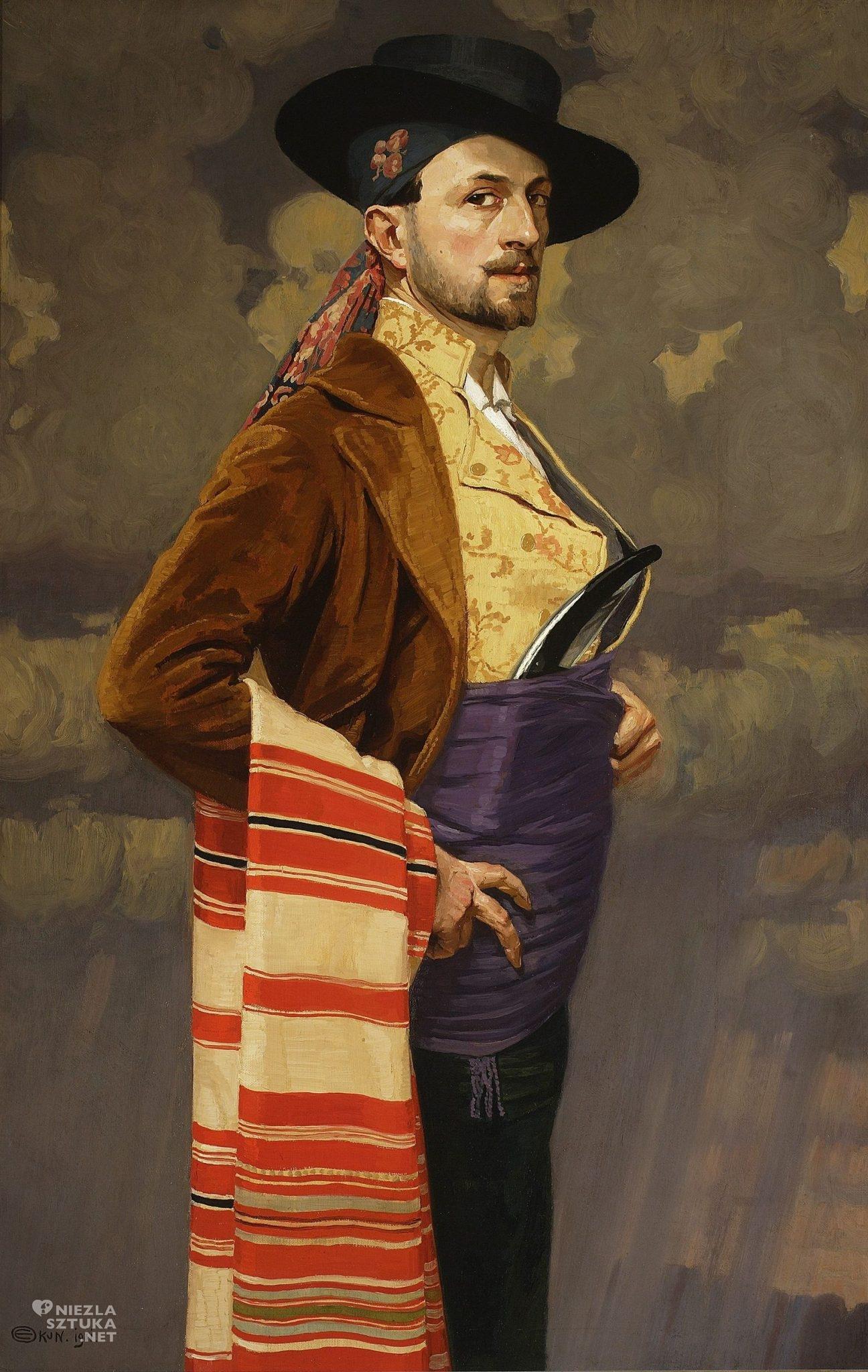 Edward Okuń, Portret własny w stroju hiszpańskim  1911, Muzeum Narodowe w Warszawie