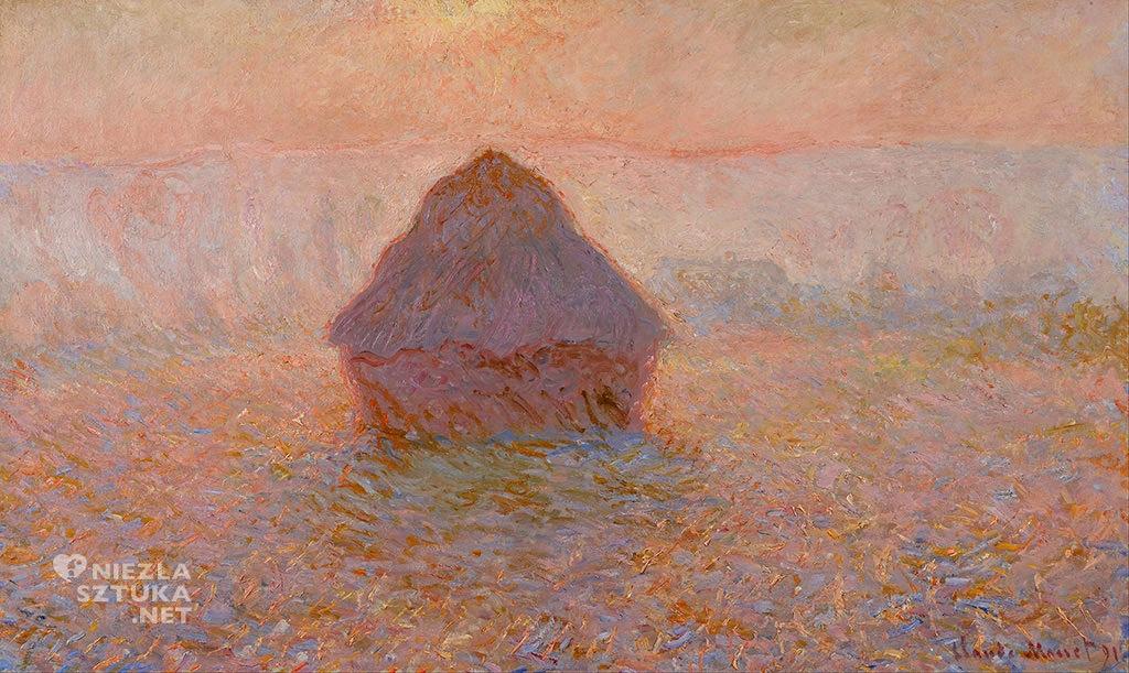 Claude Monet Stóg siana