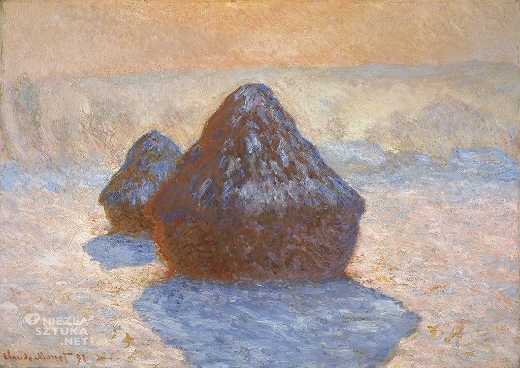 Claude Monet Stogi siana