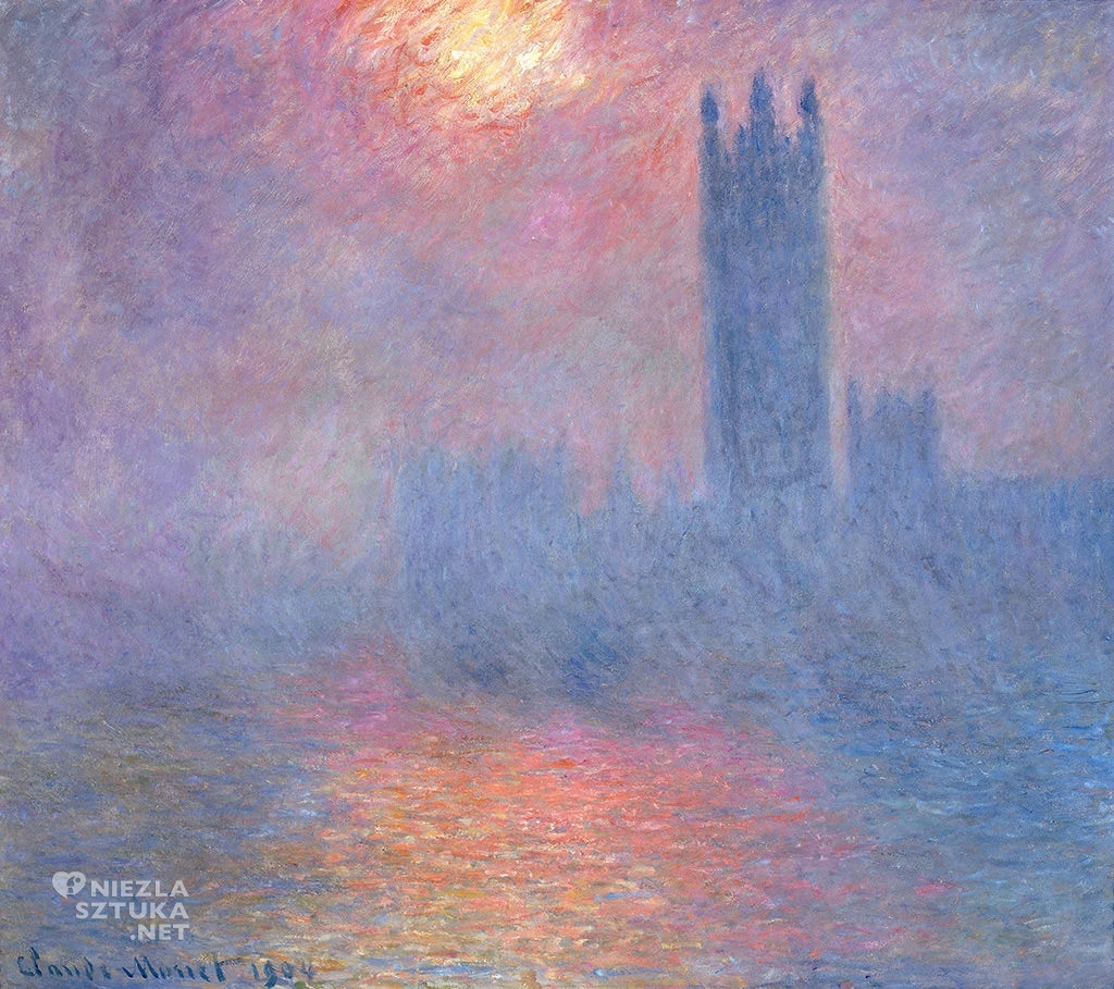 Claude Monet, Budynek Parlamentu w Londynie