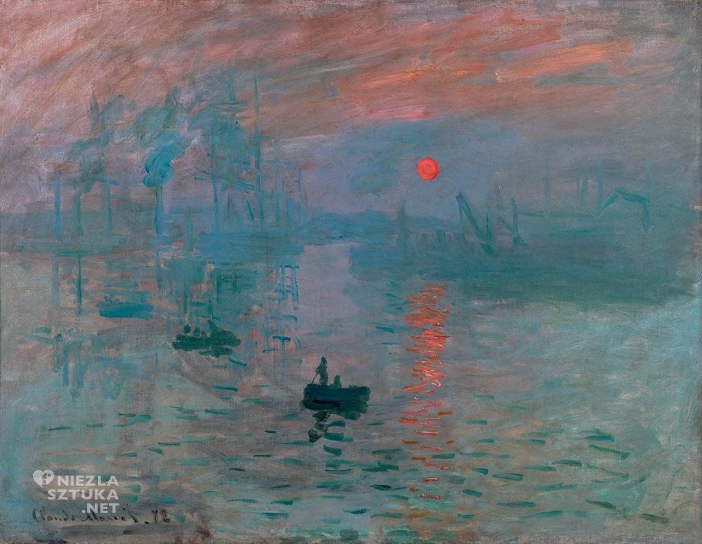 Claude Monet Impresja, wschód słońca