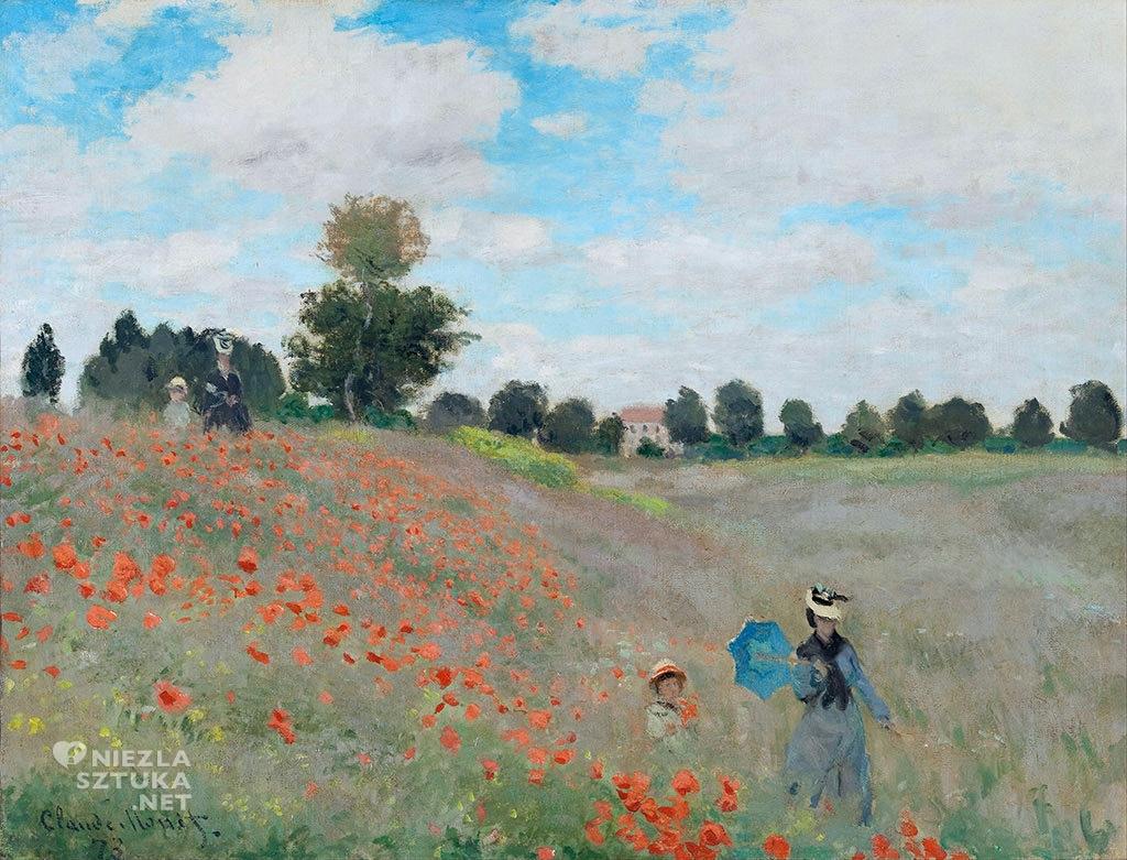 Claude Monet Maki Pole maków