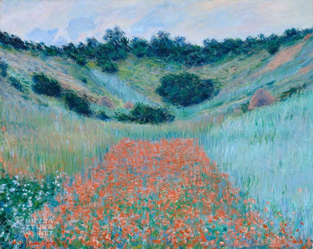 Claude Monet Pole maków