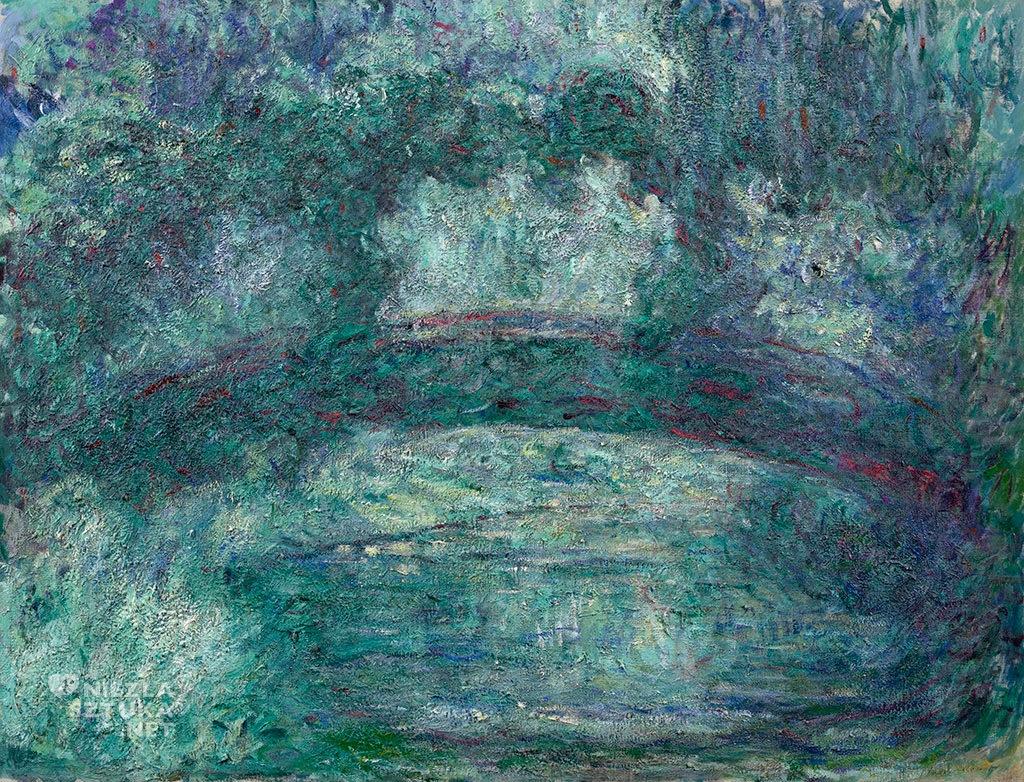 Claude Monet Japoński mostek