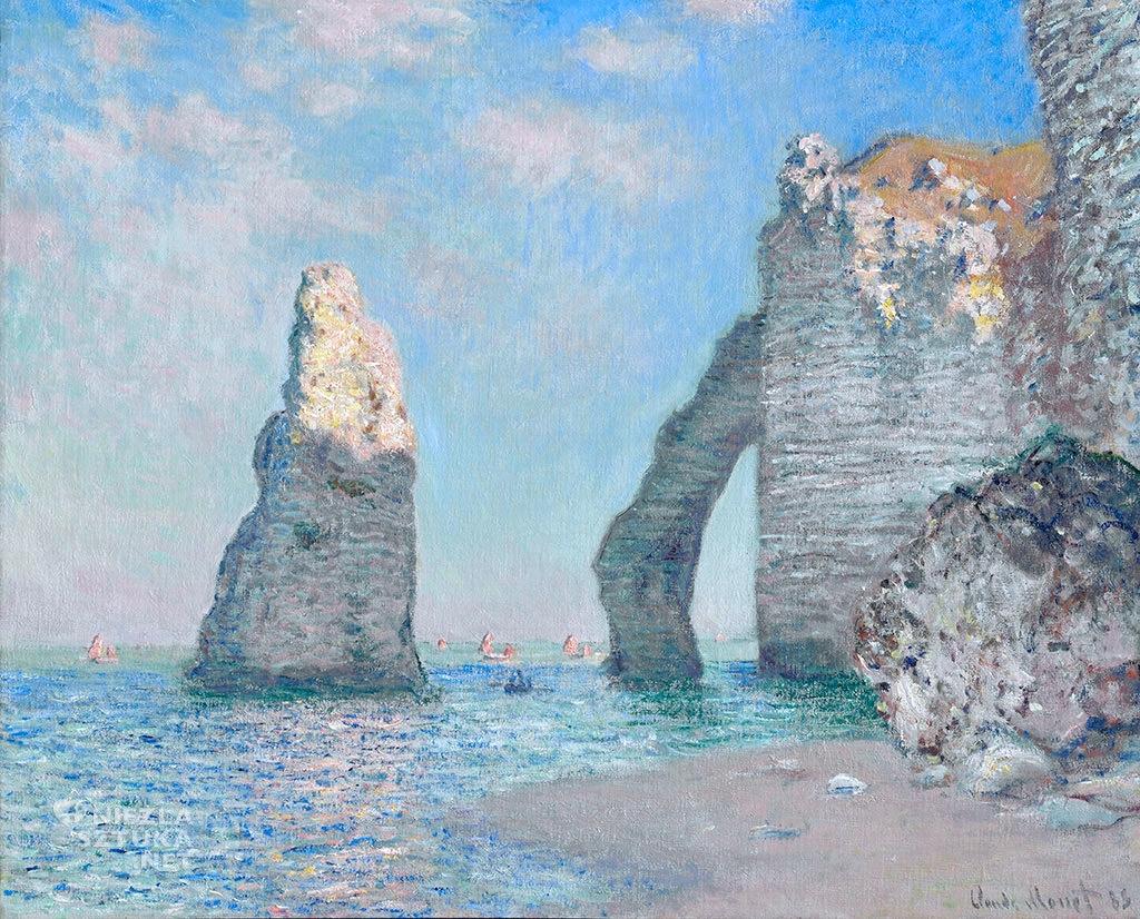 Claude Monet Klify w Etretat