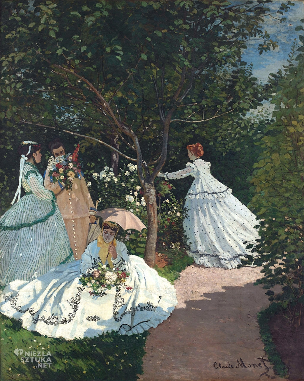 Claude Monet, Kobiety w ogrodzie, impresjonizm, Niezła sztuka