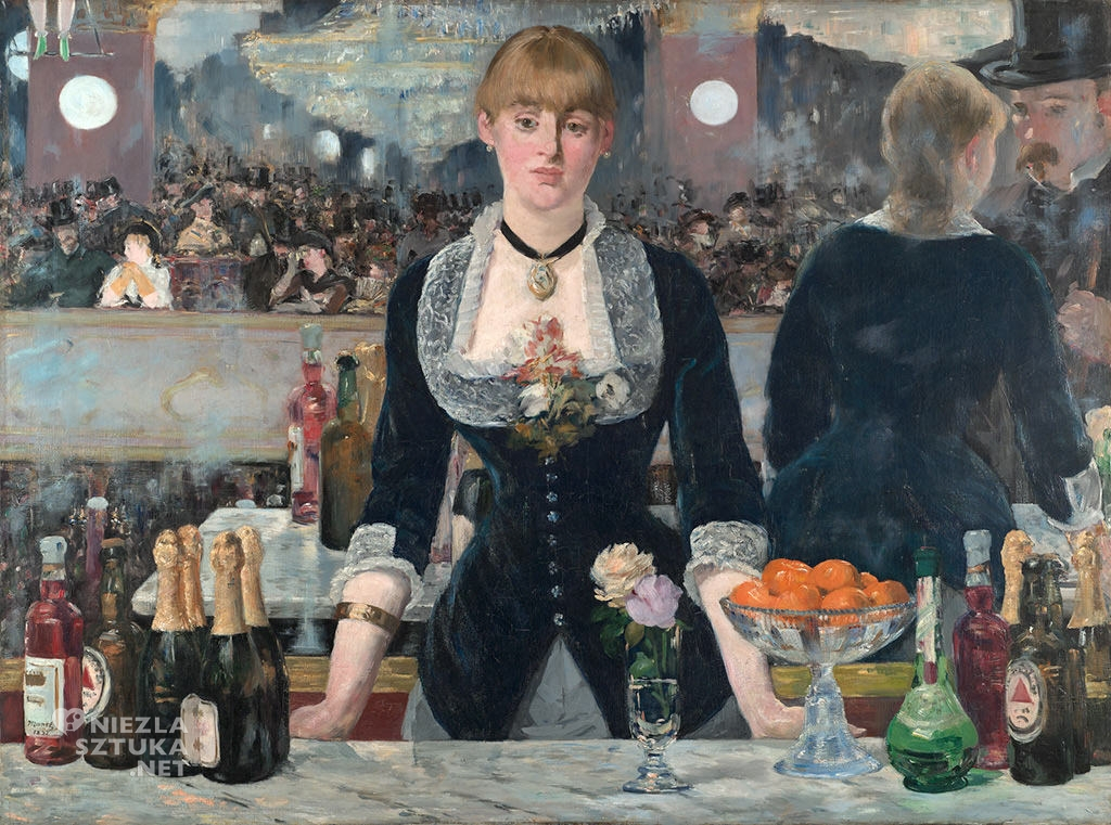 Édouard Manet, Bar w Folies-Bergère | 1881-1882, olej, płótno, Courtauld Gallery