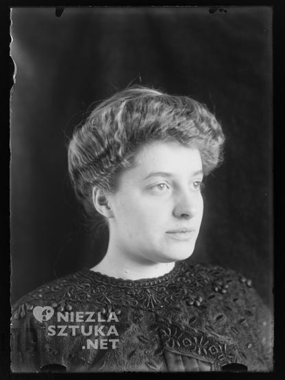 Jadwiga Janczewska, fot. Stanisław Ignacy Witkiewicz, ok. 1913 roku, Muzeum Tatrzańskie im. Dra Tytusa Chałubińskiego w Zakopanem