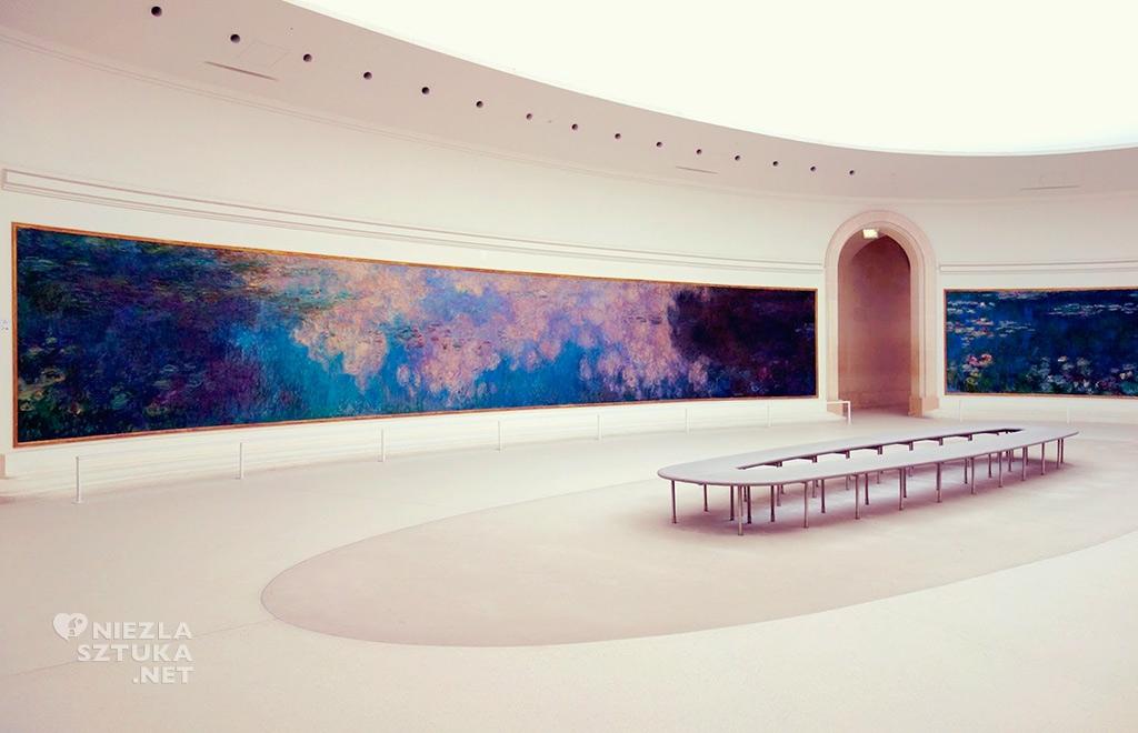Claude Monet Lilie wodne Musée de l'Orangerie