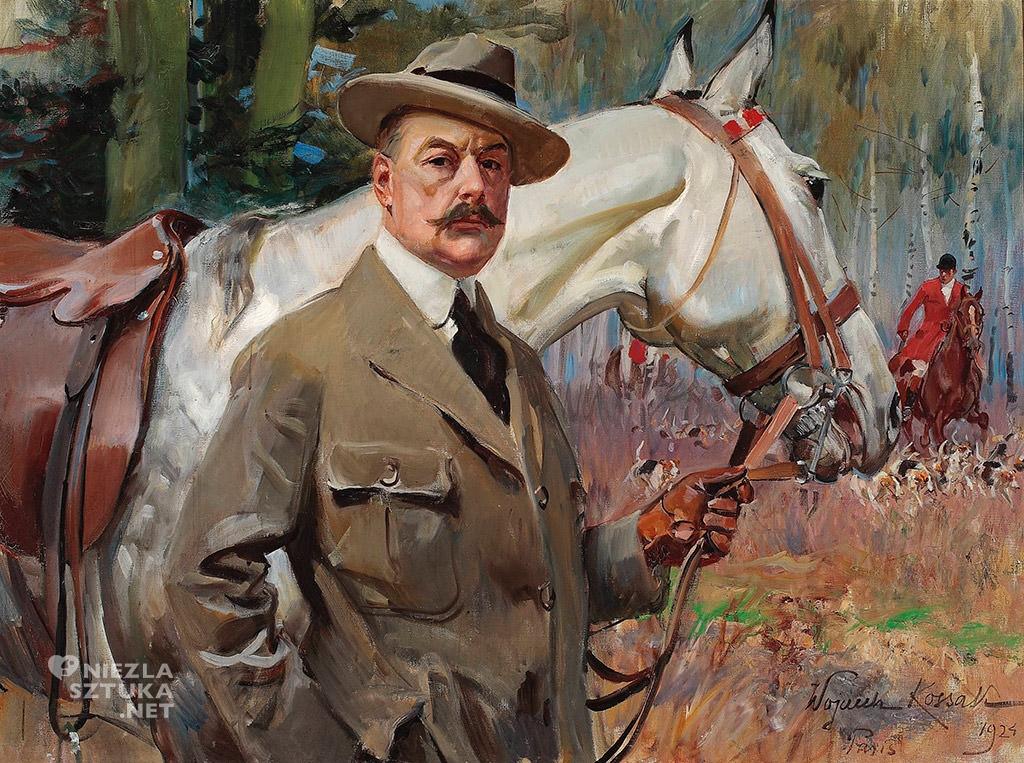 Wojciech Kossak Autoportret