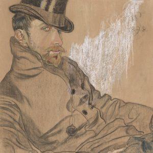 Stanisław Wyspiański Portret pastel, Niezła sztuka