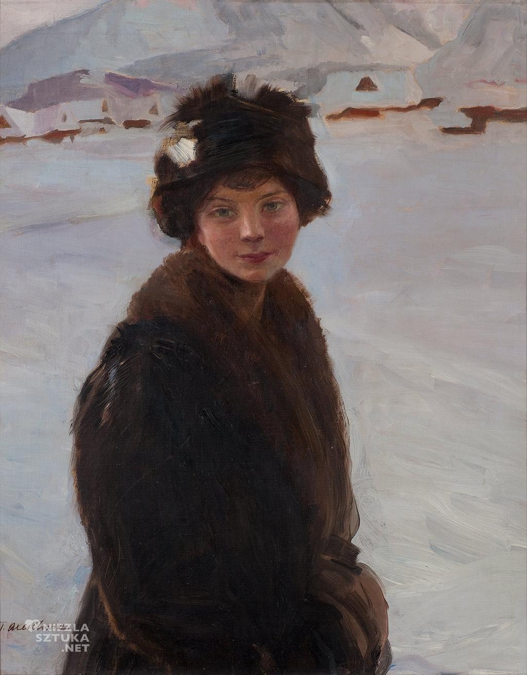 Teodor Axentowicz, polska sztuka, polskie malarstwo, Muzeum Pałac Herbsta, Niezła Sztuka