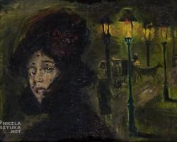 Leon Kowalski Nocna samotność | XIX/XX w, Muzeum Pałac Herbsta (Oddział Muzeum Sztuki w Łodzi)