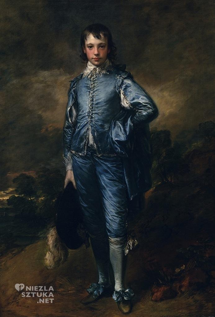 Thomas Gainsborough Błękitny chłopiec | 1779, Henry E. Huntington Art Gallery, San Marino, California