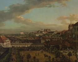 Canaletto Bernardo Bellotto malarstwo Widok Warszawy