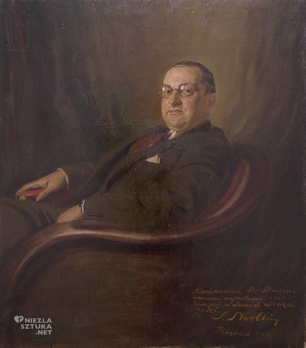 Stefan Norblin, Portret Maxa Makowskiego Muzeum Regionalne w Stalowej Woli