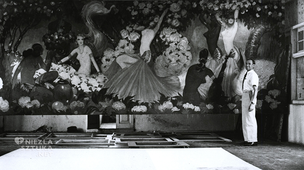 Stefan Norblin artysta malarstwo Indie