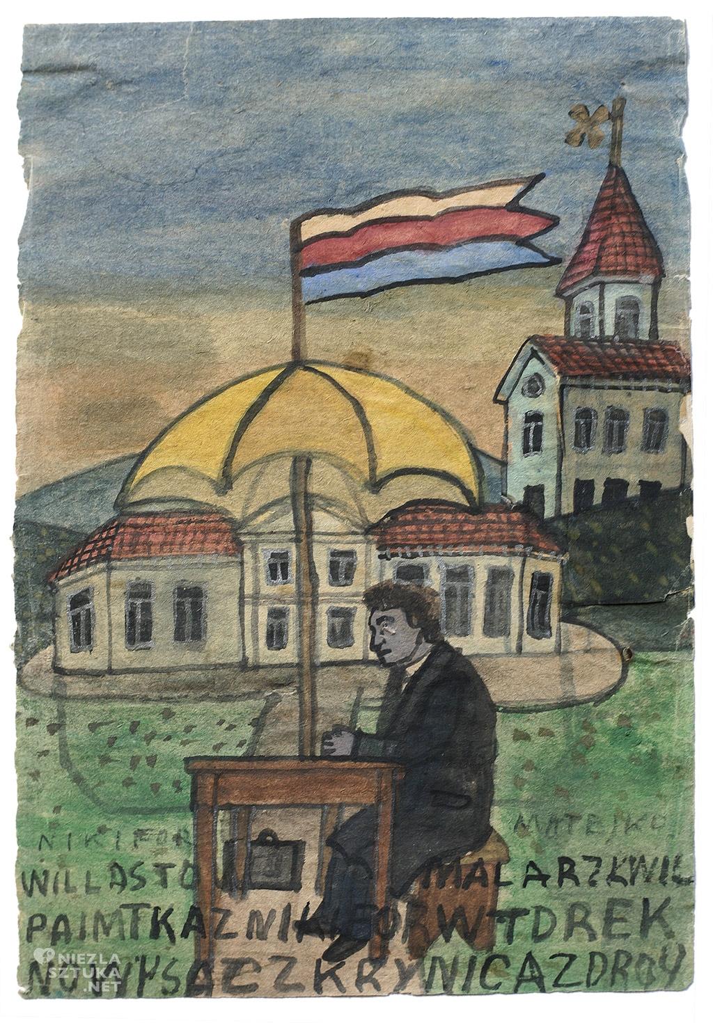 Nikifor Krynicki malarstwo Niezła sztuka