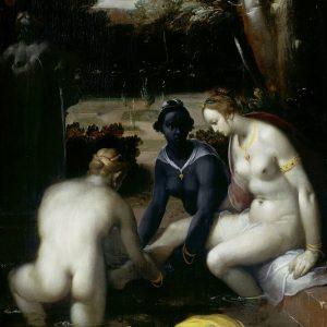 Cornelis Cornelisz. van Haarlem, Batszeba w kąpieli, Rijksmuseum, Amsterdam Niezła sztuka