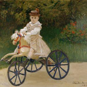 Claude Monet Jean Monet na koniku