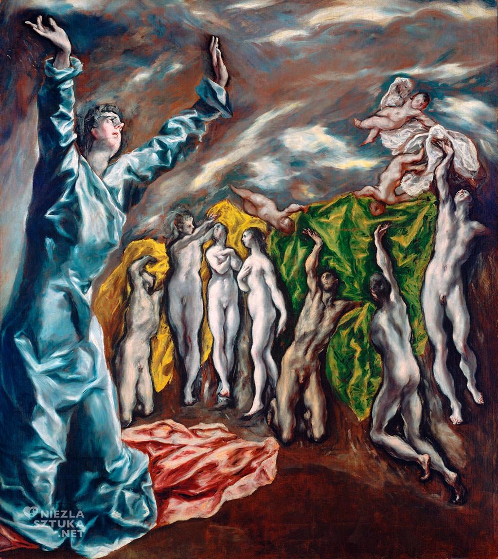 El Greco, Otwarcie piątej pieczęci Apokalipsy (Wizja św. Jana) , 1608-1614, MET