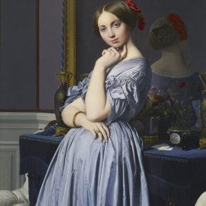 Jean-Auguste-Dominique Ingres Hrabina d'Haussonville