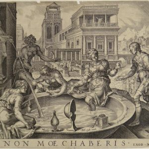 Maarten van Heemskerck, Dawid i Batszeba, ok. 1550, Museum Catharijne Convent