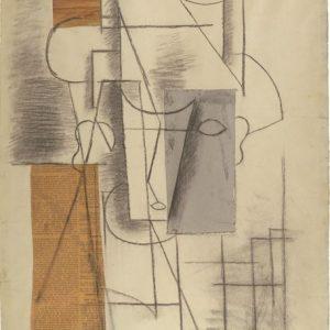 Pablo Picasso Głowa mężczyzny, kubizm, Niezła Sztuka