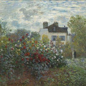 Claude Monet Ogród artysty w Argenteuil