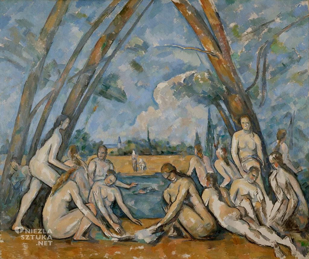 Paula Cézanne, Wielkie kąpiące się, ok. 1906, Philadelphia Museum of Art, Niezła Sztuka