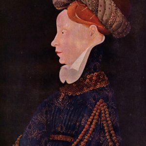 Mistrz franko-flamandzki Portret kobiety