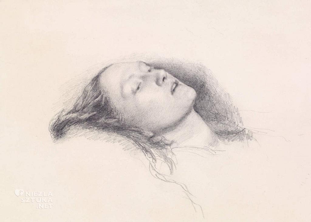 John Everett Millais, Szkic, Ofelia, prerafaelici, Niezła sztuka