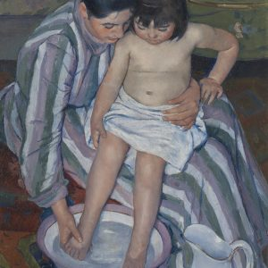 Mary Cassatt, impresjonizm, Kąpiel dziecka, Niezła sztuka
