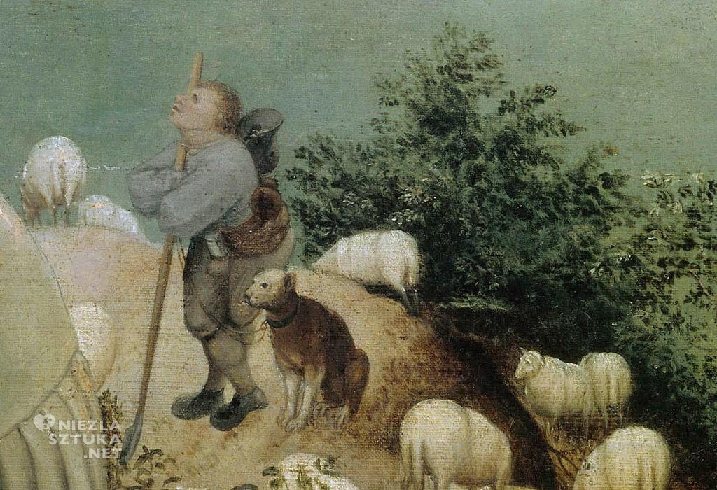 Pieter Bruegel upadek ikara, Bruksela, Niezła sztuka