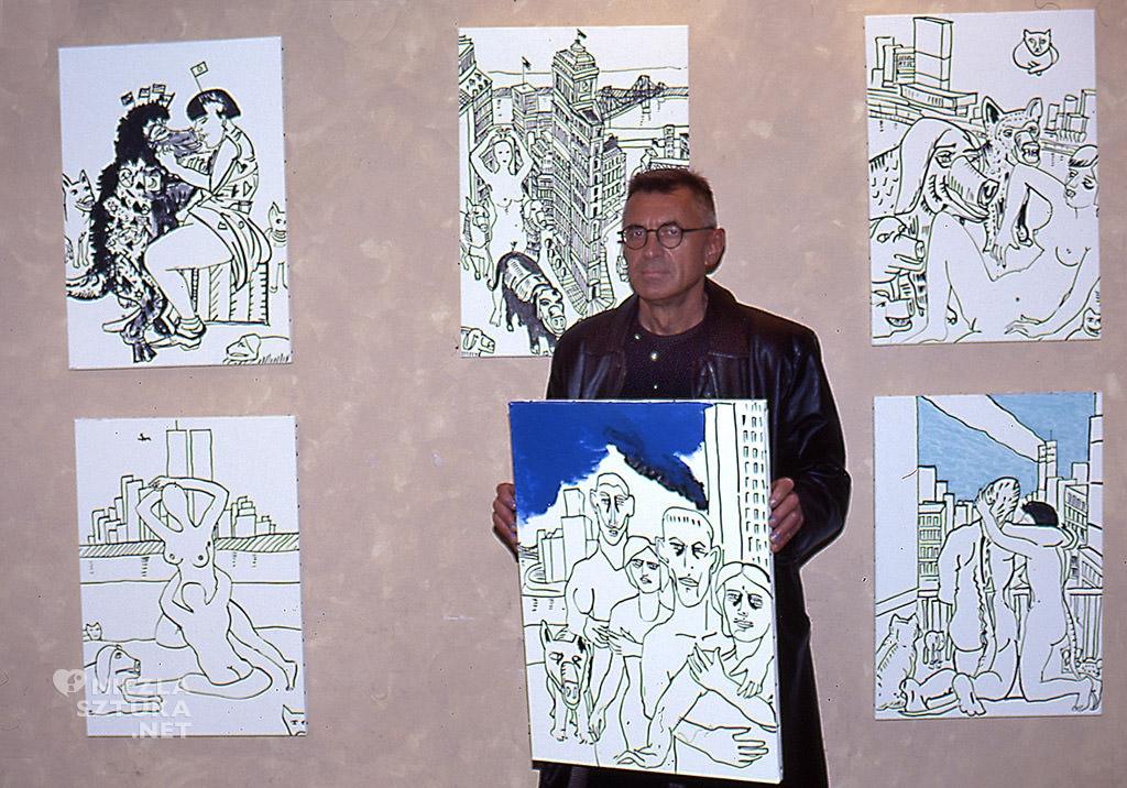 Edward Dwurnik, sztuka polska, malarz polski, niezła sztuka