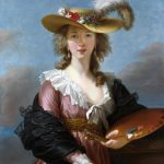 Élisabeth Vigée Le Brun Autoportret po 1782 National Gallery Londyn
