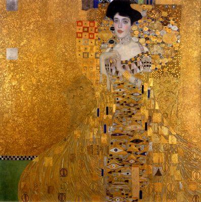 Gustav Klimt, Adele Bloch-Bauer I, 1907, Neue Galerie, New York, Niezła sztuka