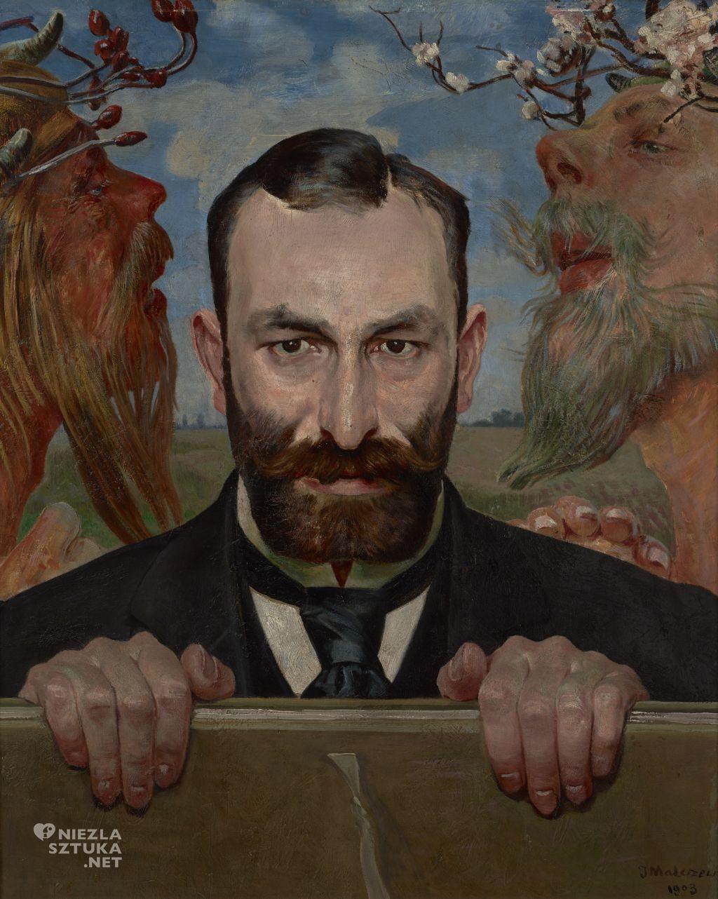 Jacek Malczewski, Portret Feliksa Jasieńskiego, Niezła sztuka