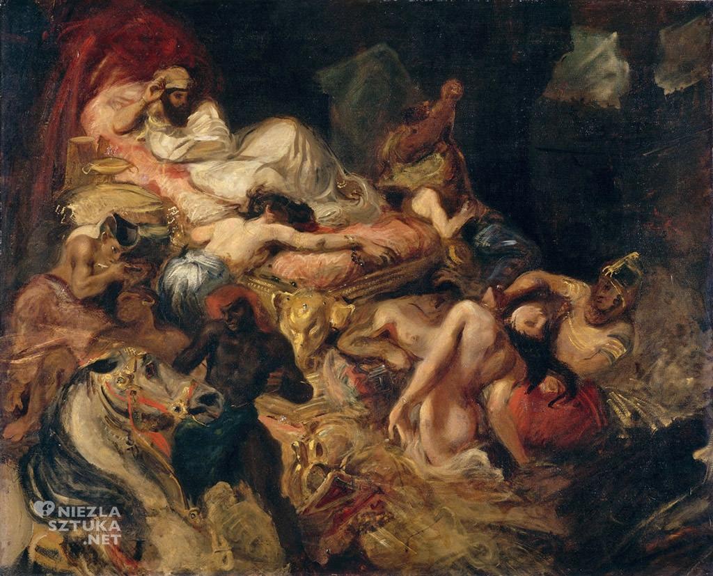 Eugène Delacroix Śmierć Sardanapala