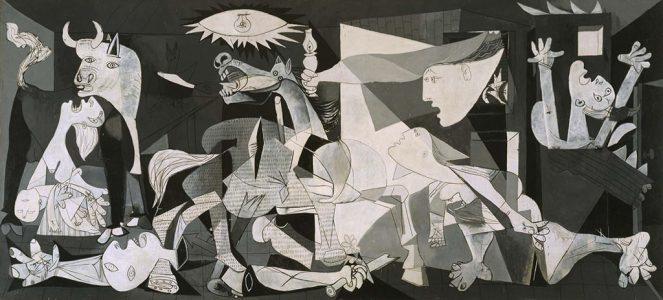 Pablo Picasso, Guernica, slajd