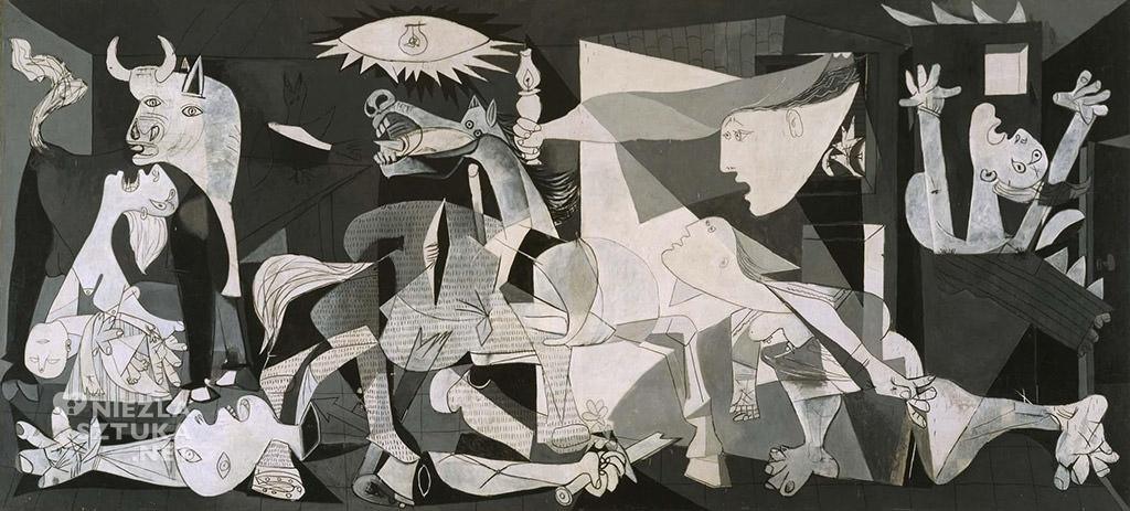 Pablo Picasso, Guernica, malarstwo, Niezła Sztuka