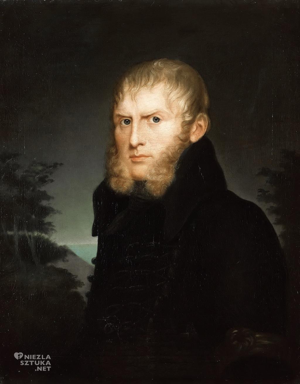 Caroline Bardua Portret Caspara Davida Friedricha