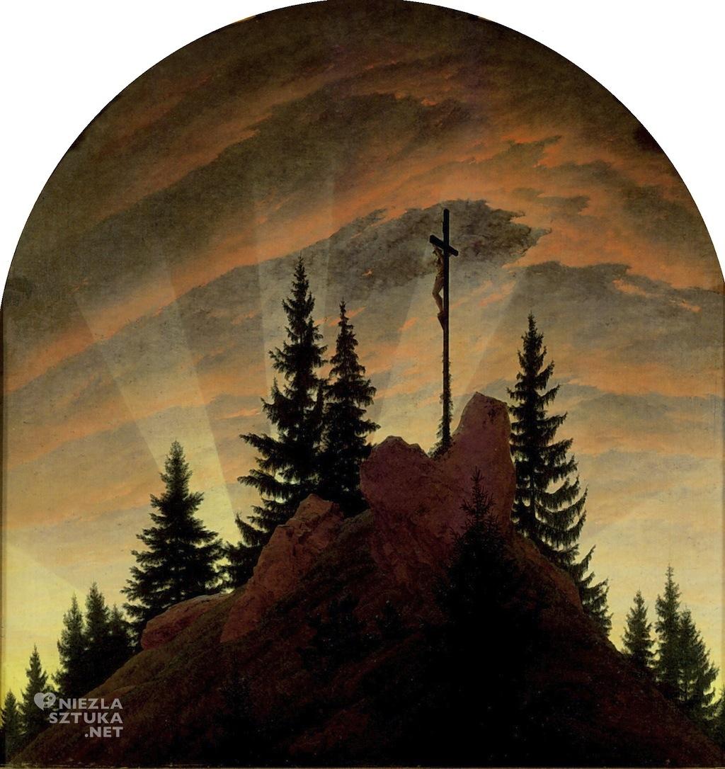 Caspar David Friedrich Krzyż w górach