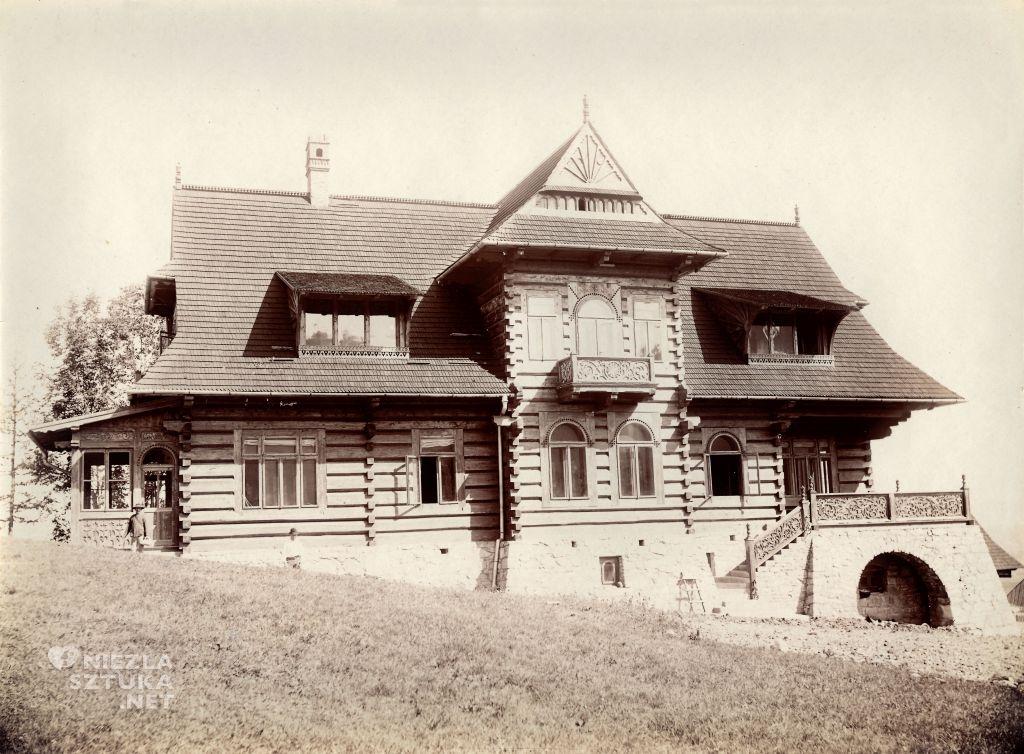 Dom pod Jedlami, według projektu Stanisława Witkiewicza