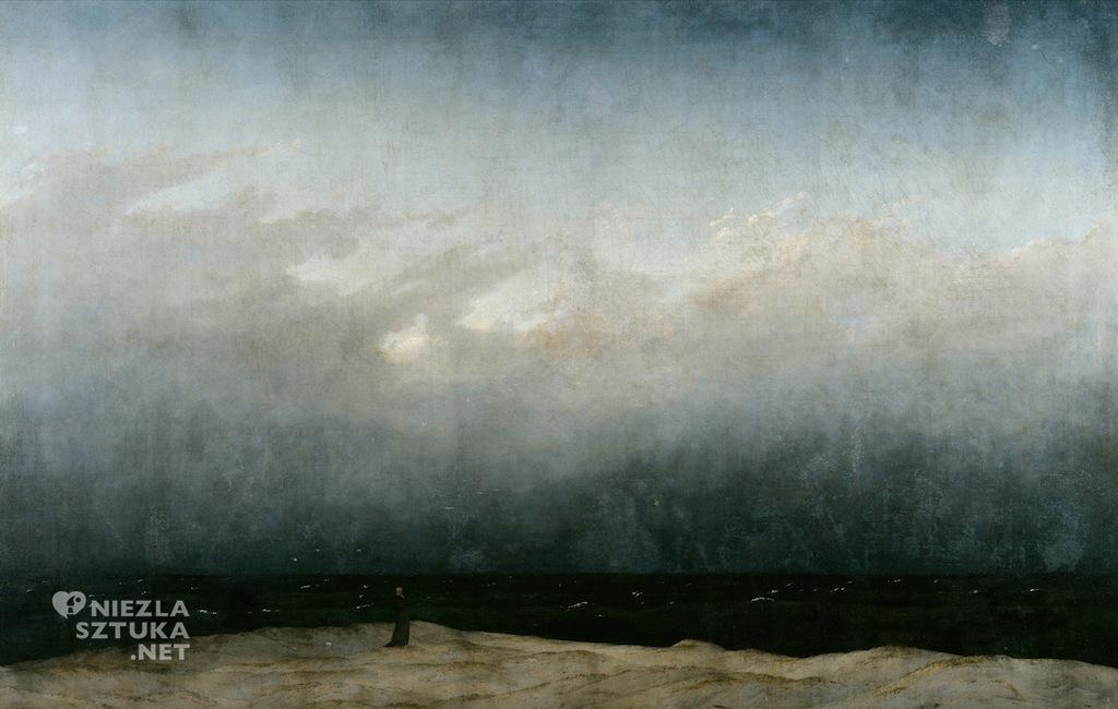 Caspar David Friedrich Mnich nad morzem