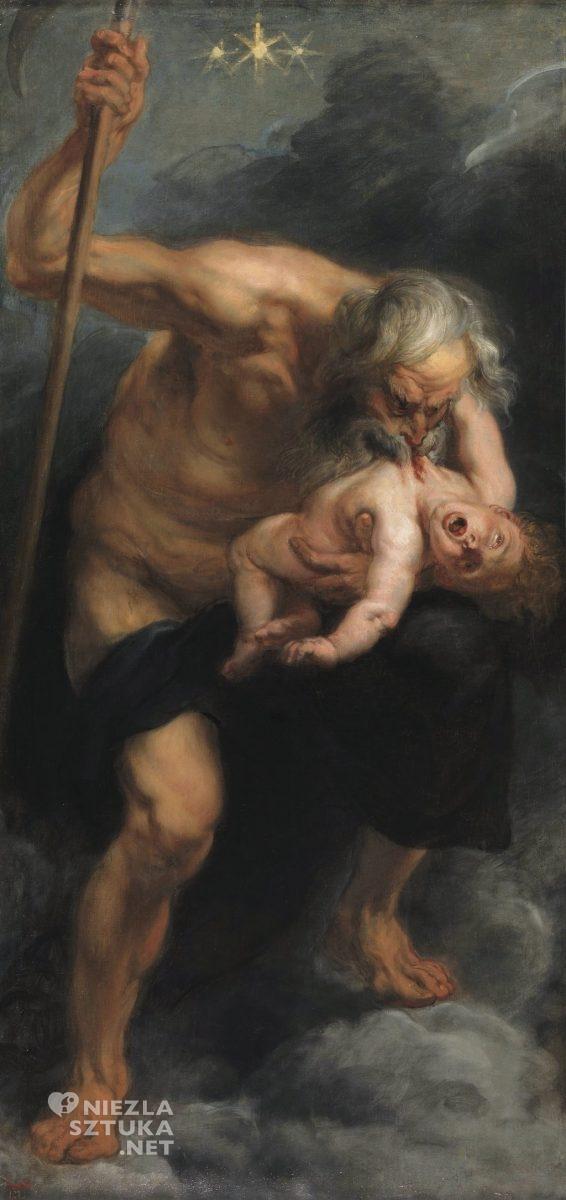 Peter Paul Rubens Saturn pożerający syna, Hiszpania, Prado, Madryt, Niezła sztuka