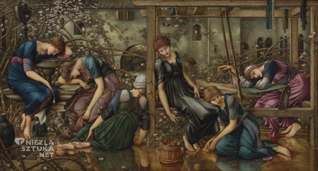 Edward Burne-Jones, The Garden Court , 1885-1890, Bristol Museum & Art Gallery © National Gallery w Londynie